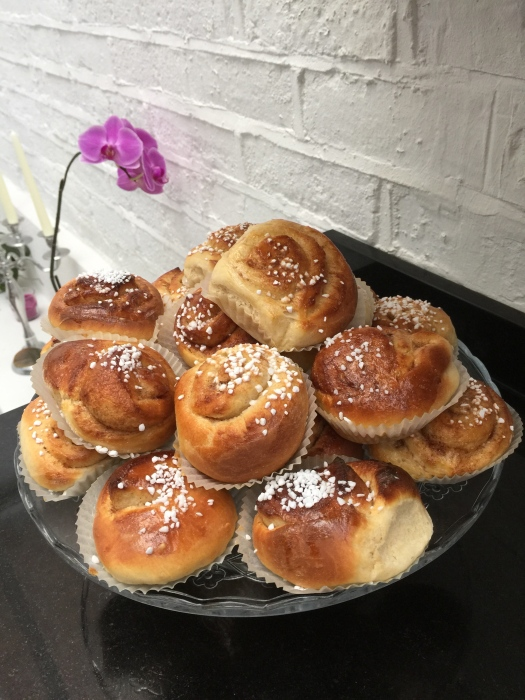 Mamma Siv's cinnamon buns